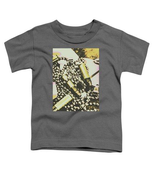 Retro Military Poster Art Toddler T-Shirt