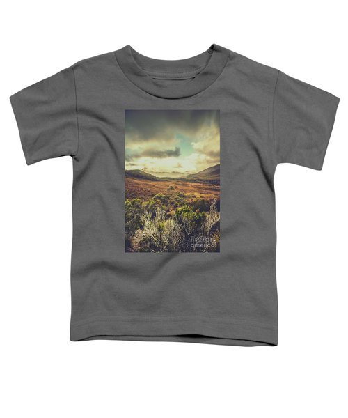 Retro Scenic Wilderness Toddler T-Shirt
