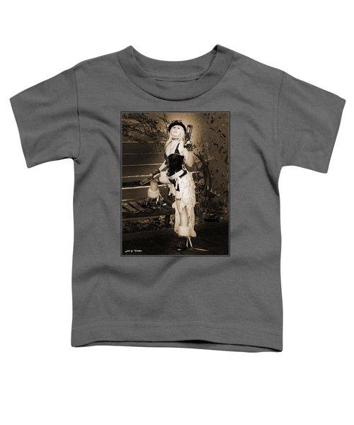 Retro Steam Punk Vixen Toddler T-Shirt