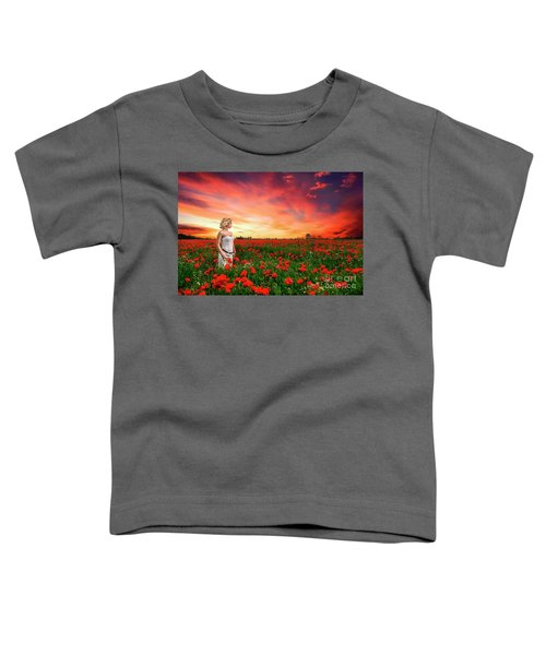 Rhapsody In Red Toddler T-Shirt
