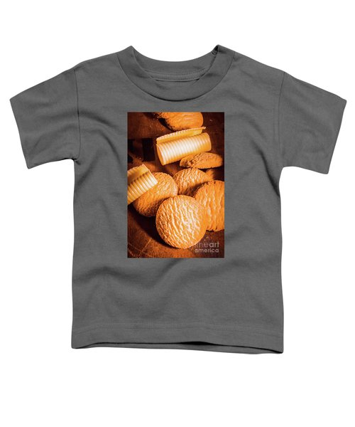 Rich Buttery Shortbread Biscuits Toddler T-Shirt