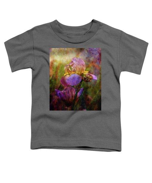 Rich Purple Irises 0056 Idp_22 Toddler T-Shirt