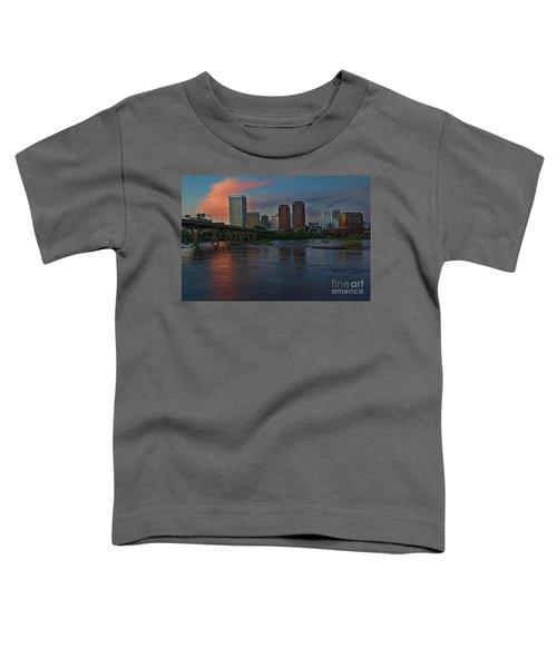 Richmond Dusk Skyline Toddler T-Shirt