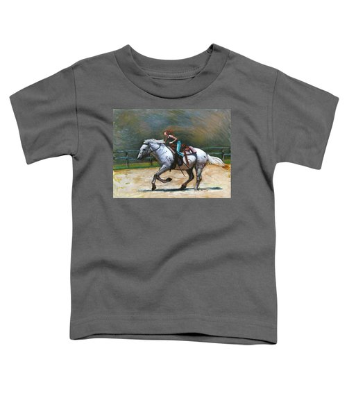 Riding Dollar Toddler T-Shirt