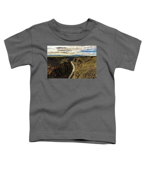 Rio Grande Gorge  Toddler T-Shirt