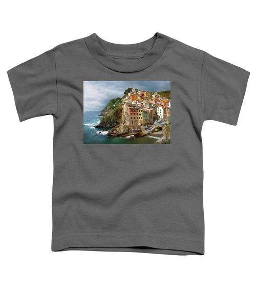 Riomaggiore Italy Toddler T-Shirt