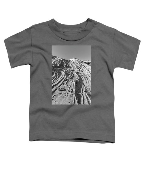 Rippled Sandstone At Waterhole Canyon Toddler T-Shirt