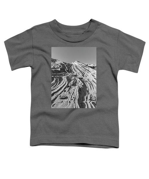 Rippled Sandstone At Waterhole Canyon Toddler T-Shirt