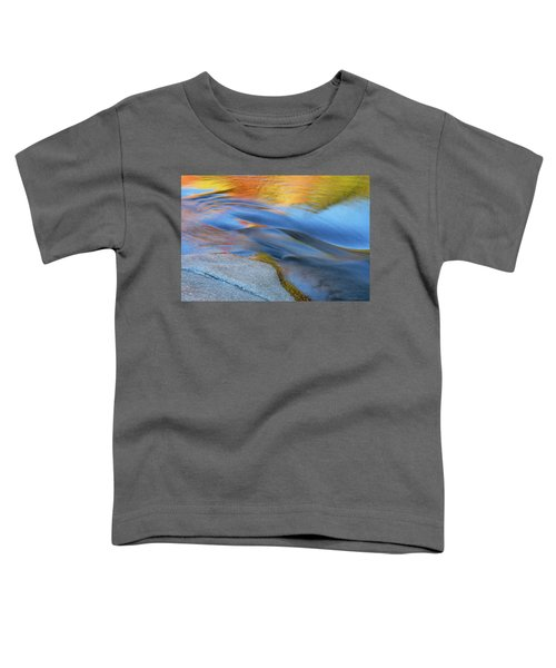 Ripples Flow Swift River Nh Toddler T-Shirt
