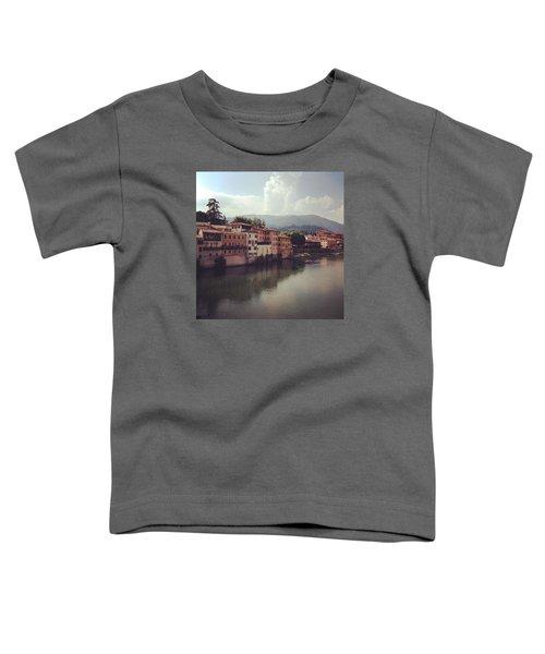 Rise And Shine #bassanodelgrappa Toddler T-Shirt