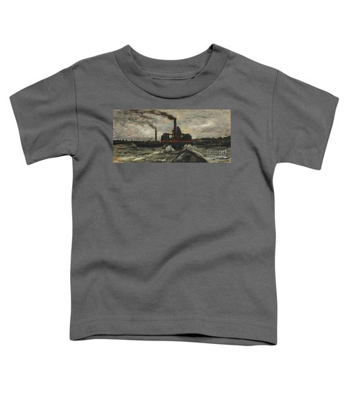 River Boat Toddler T-Shirt