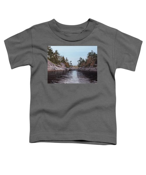 River Narrows Toddler T-Shirt