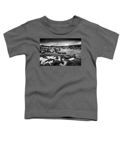 River Sligachan And Black Cuillin, Isle Of Skye Toddler T-Shirt