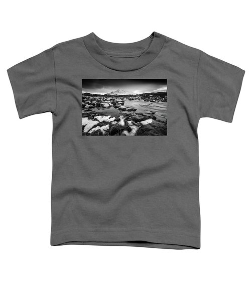River Sligachan And Black Cuillin, Isle Of Skye Toddler T-Shirt