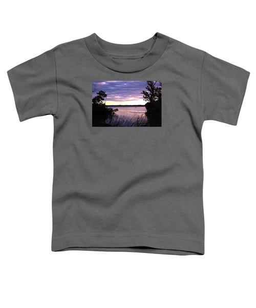 River Sunrise Toddler T-Shirt