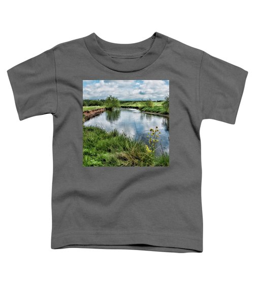 River Tame, Rspb Middleton, North Toddler T-Shirt