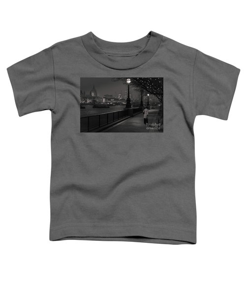 River Thames Embankment, London Toddler T-Shirt
