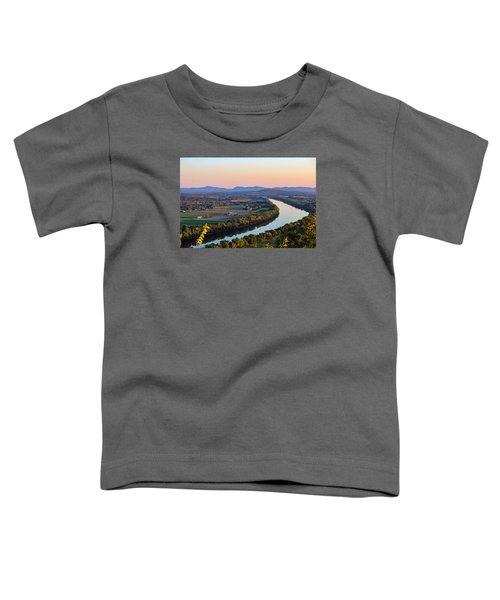 Connecticut River View  Toddler T-Shirt