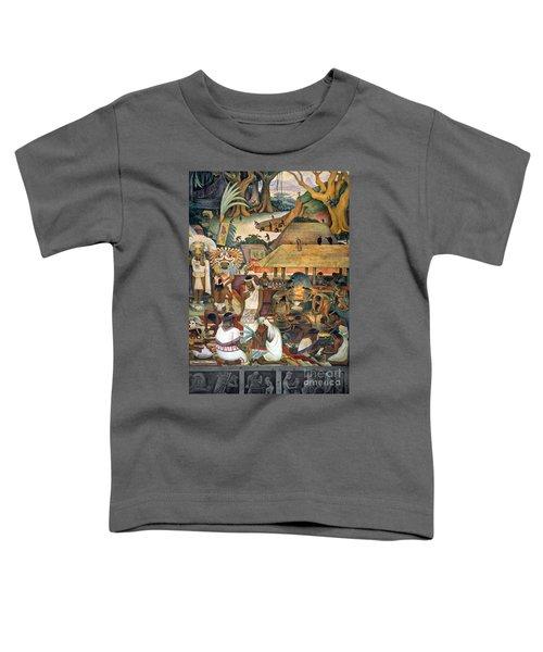 Rivera: Pre-columbian Life Toddler T-Shirt