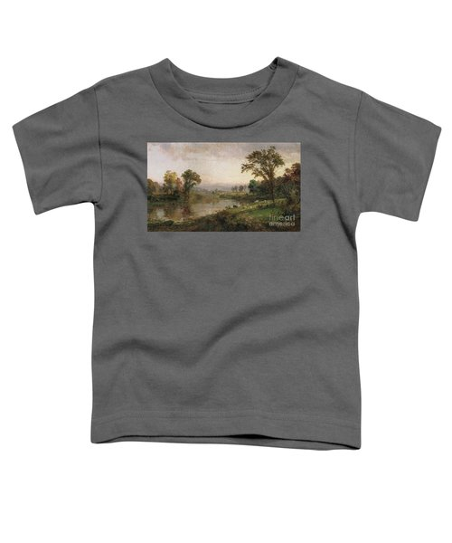 Riverscape In Early Autumn Toddler T-Shirt