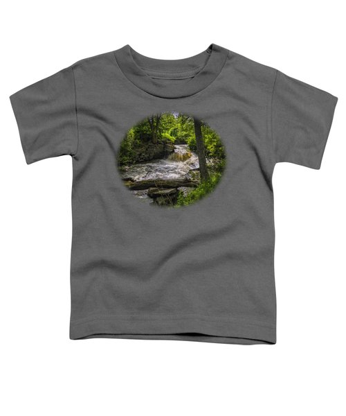 Toddler T-Shirt featuring the photograph Riverside by Mark Myhaver