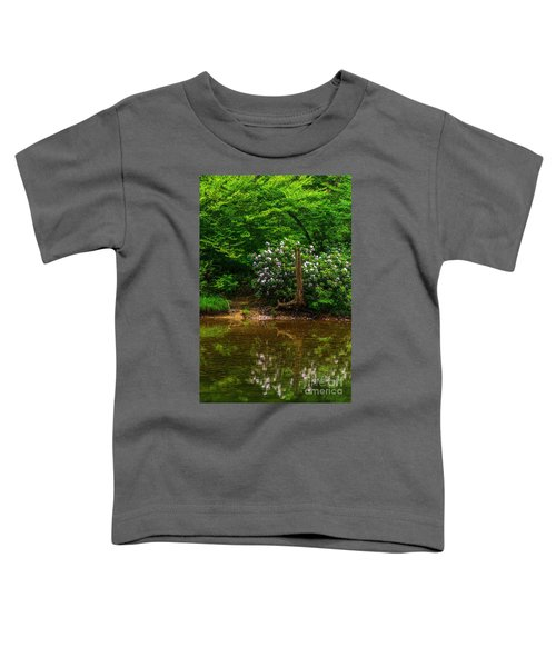 Riverside Rhododendron Toddler T-Shirt