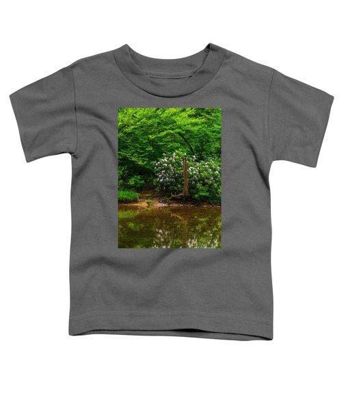 Riverside Rhododendron Toddler T-Shirt