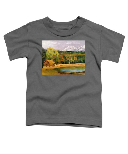 Road To Kintla Lake Toddler T-Shirt