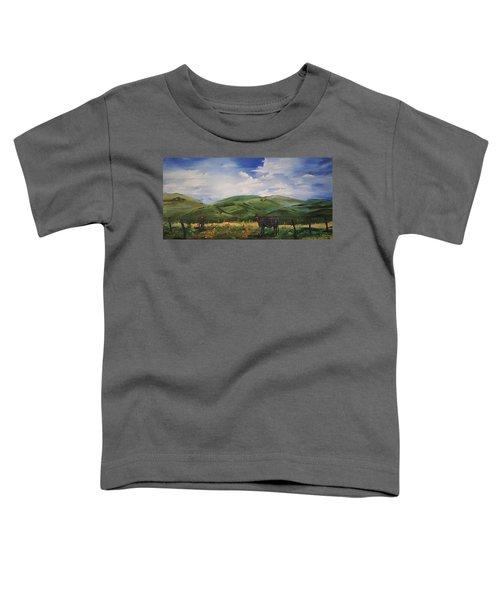 Road To Melrose, Montana         32 Toddler T-Shirt