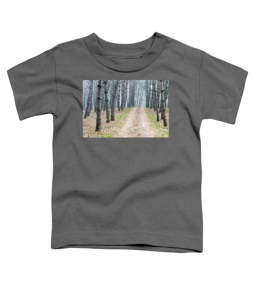 Road To Pine Forest Toddler T-Shirt