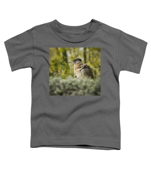 Roadrunner On Guard  Toddler T-Shirt by Saija  Lehtonen