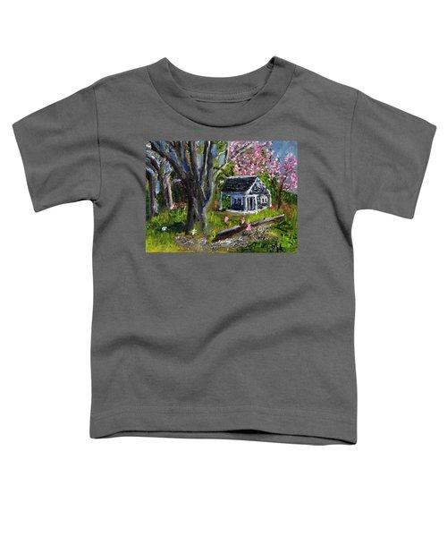 Roadside Vegetable Stand Off Season Toddler T-Shirt