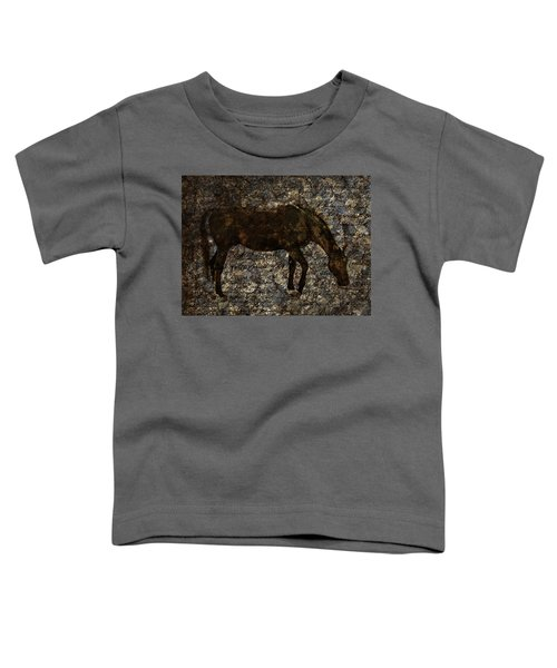 Roan Stallion Toddler T-Shirt