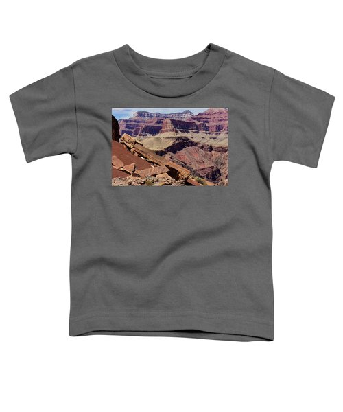 Rock Formations In The Grand Canyon Toddler T-Shirt