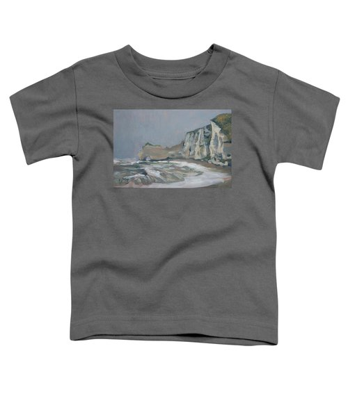 Rock Of Amont Etretat After The Rain Toddler T-Shirt