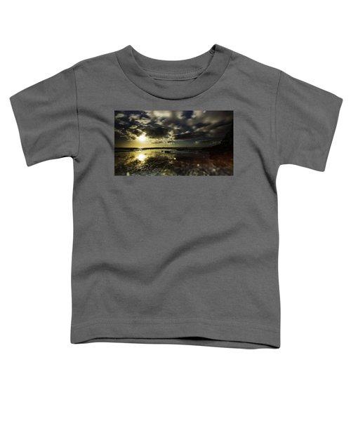 Rock Pool Sunrise Toddler T-Shirt