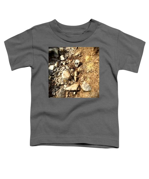 Rock Skull Toddler T-Shirt