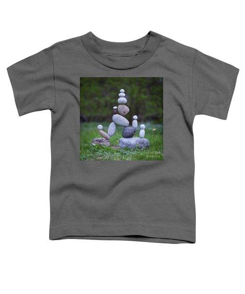 Rock Yoga Toddler T-Shirt