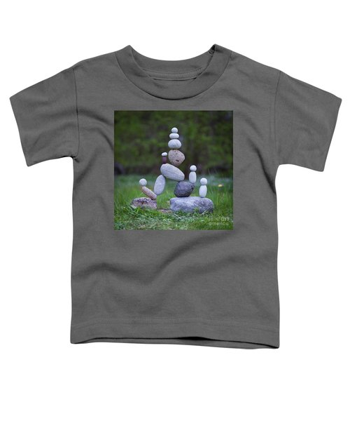 Rock Yoga Toddler T-Shirt