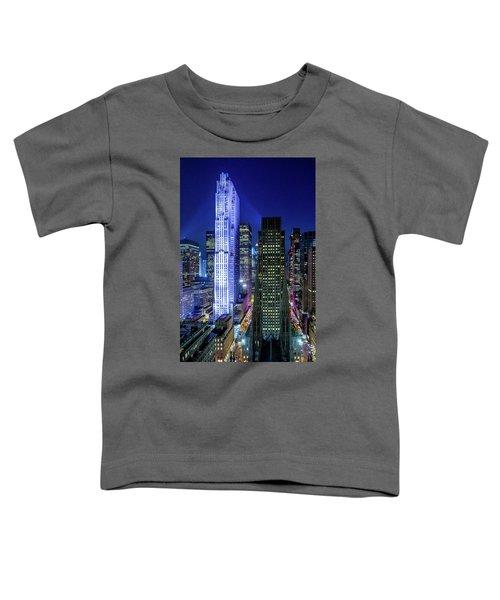Rockefeller At Night Toddler T-Shirt