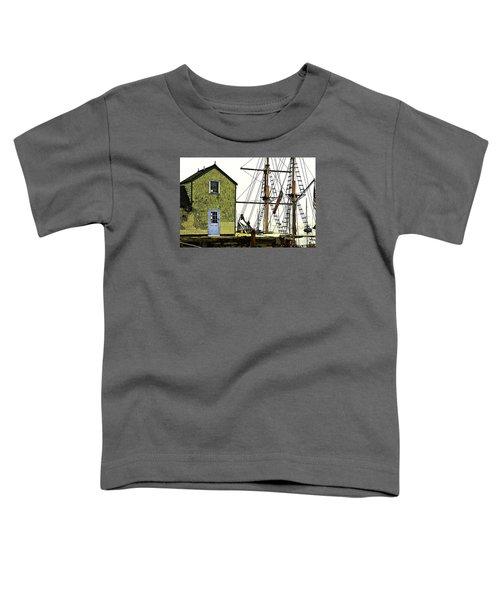 Rockport Harbor Toddler T-Shirt