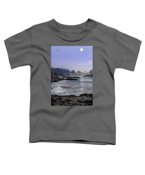 Rocks And Moon And Water Toddler T-Shirt