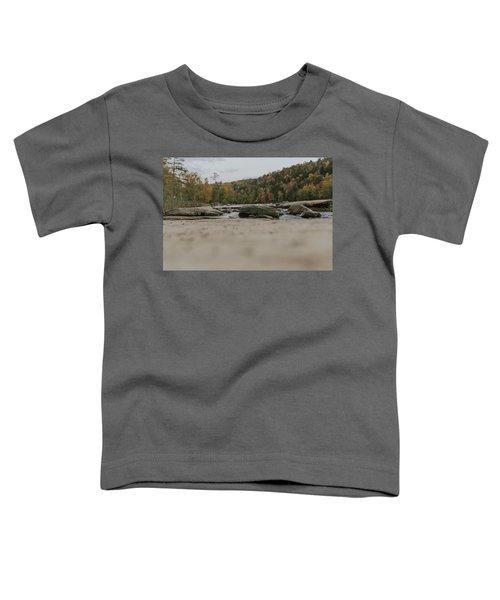 Rocks On Cumberland River Toddler T-Shirt