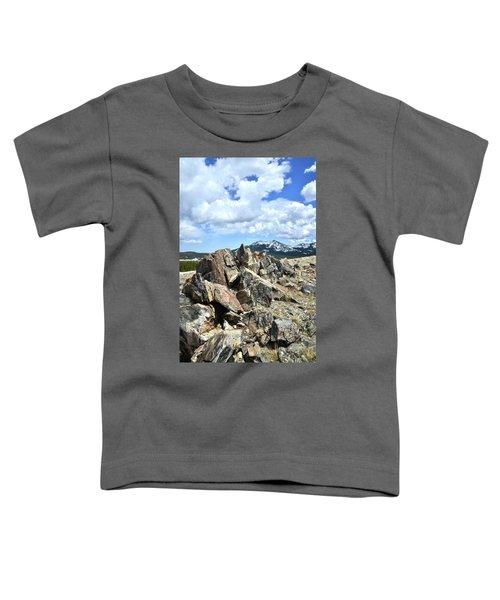 Rocky Crest At Big Horn Pass Toddler T-Shirt
