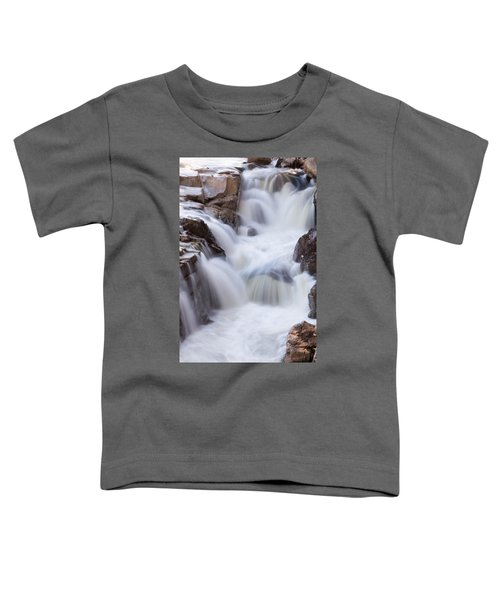 Rocky Gorge Falls Toddler T-Shirt
