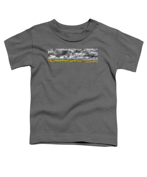 Rocky Mountain Panorama Hdr Toddler T-Shirt
