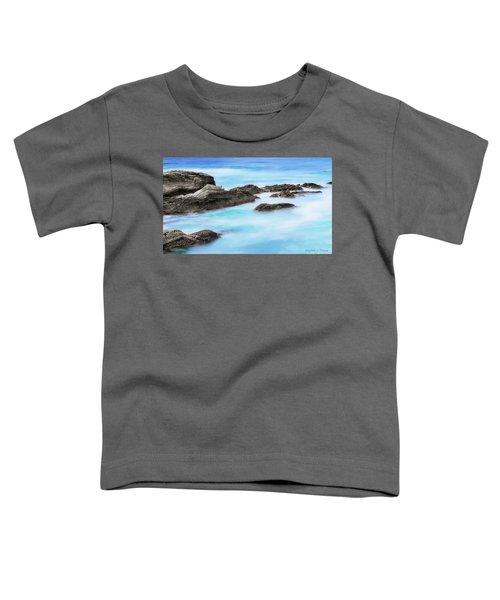 Rocky Ocean Toddler T-Shirt