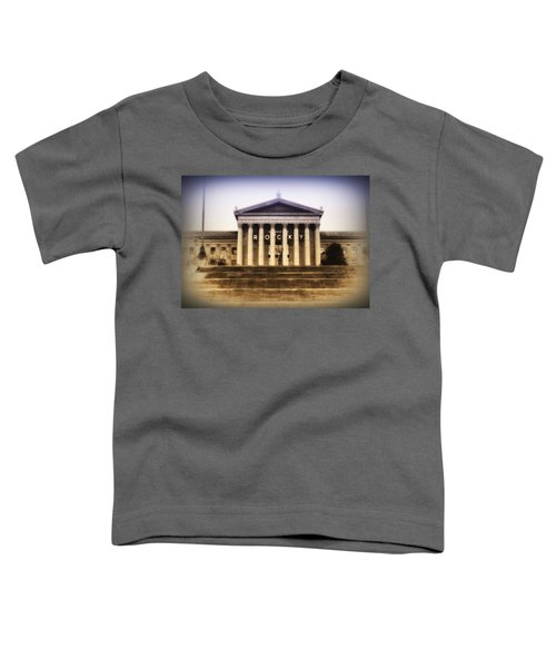 Rocky On The Art Museum Steps Toddler T-Shirt