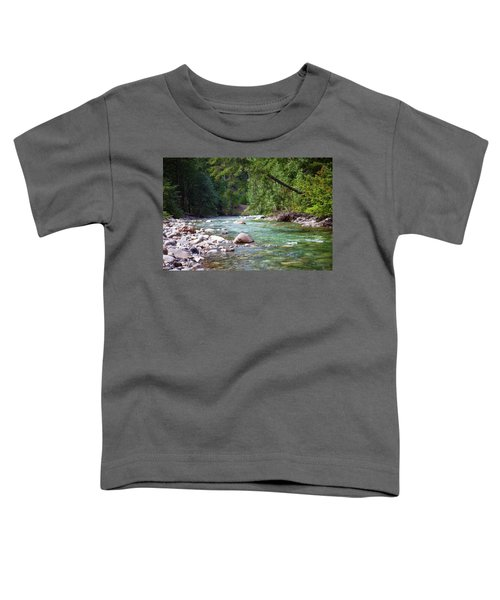 Rocky Waters In The North Cascades Landscape Photography By Omas Toddler T-Shirt