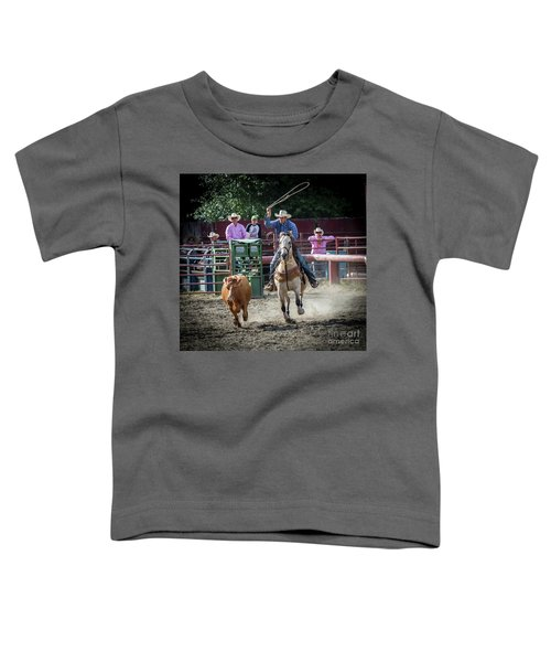 Cowboy In Action#1 Toddler T-Shirt